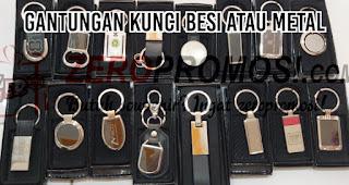 Gantungan Kunci Besi atau Metal