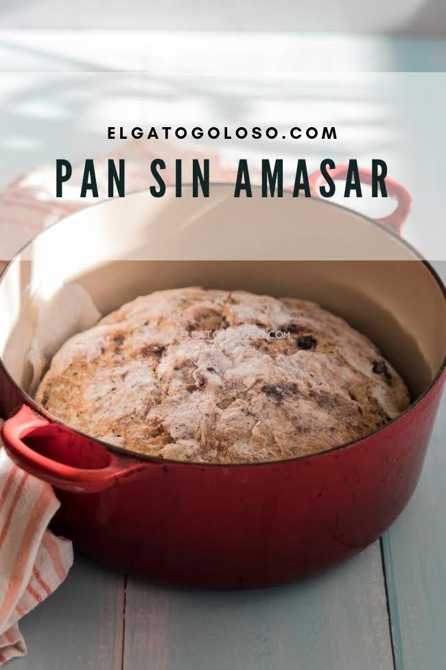 pan sin amasar, este es el pan mas facil del mundo con cranberries y semillas via elgatogoloso.com