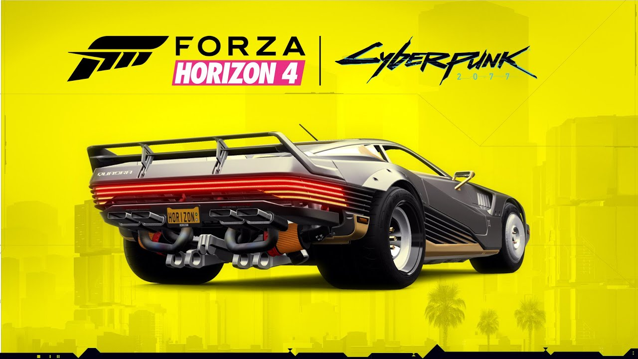 Cyberpunk 2077: The Quadra Turbo-R V-Tech available for free in Forza Horizon 4! How to get it back?
