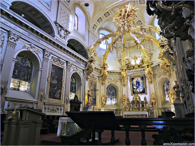Altar de la Basílica Catedral de Notre-Dame de Quebec