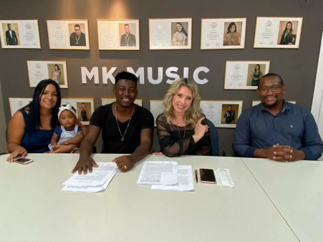 Campeão do Som Gospel, Samuel Miranda assina com a MK Music
