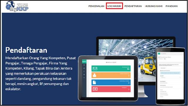 Cara Daftar Pengguna Baru Sistem Portal MyKKP