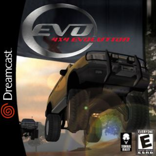 4X4 Evolution Dreamcast cover art