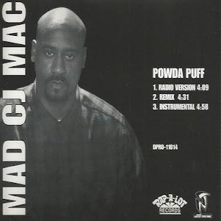 Mad CJ Mack - Powda Puff (1995) (CDS) [FLAC]