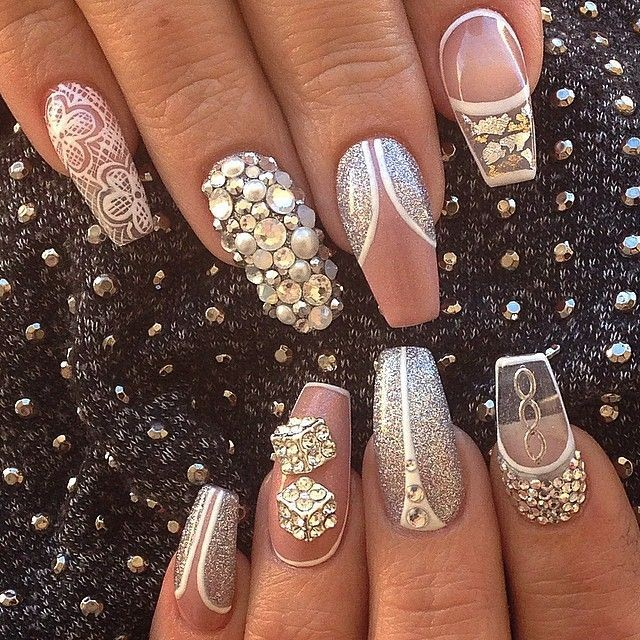 Nailed it 10 bold nail designs for the diva who wants to stand out note all nail designs were found in a public domain and are property of their respective owners prinsesfo Gallery