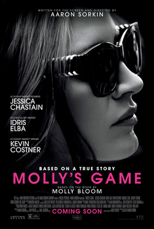 Molly's Game Trailer Jessica Chastain Leads Sorkin's