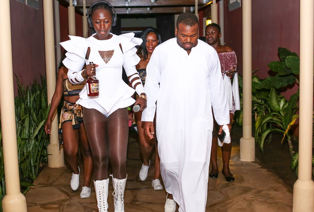 Akothee Spreads Her Legs Like The Gospel During Concert. The Photos Will Hurt Your Eyes