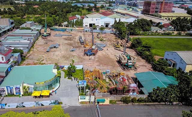 Toàn bộ chung cư Park View Thuận An ngày 29/8/2020
