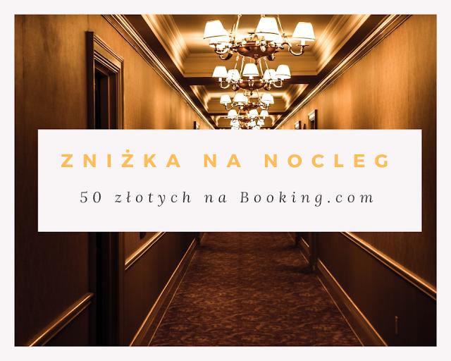 Chcesz dokonać rezerwacji na portalu Booking.com i cieszyć się rabatem na nocleg w postaci zniżki 50 zł? Kliknij tutaj!