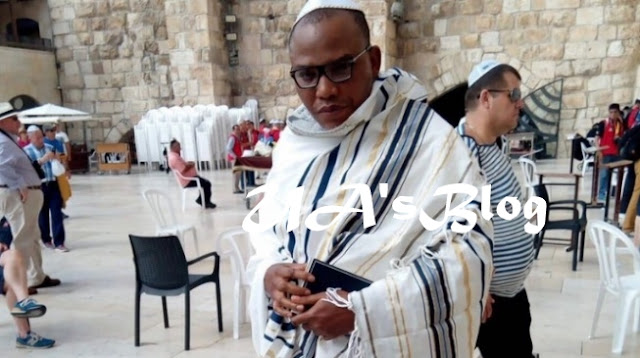 Nnamdi Kanu Names the Two Powerful Cabal Who Brought Jibril of Sudan to Aso Rock