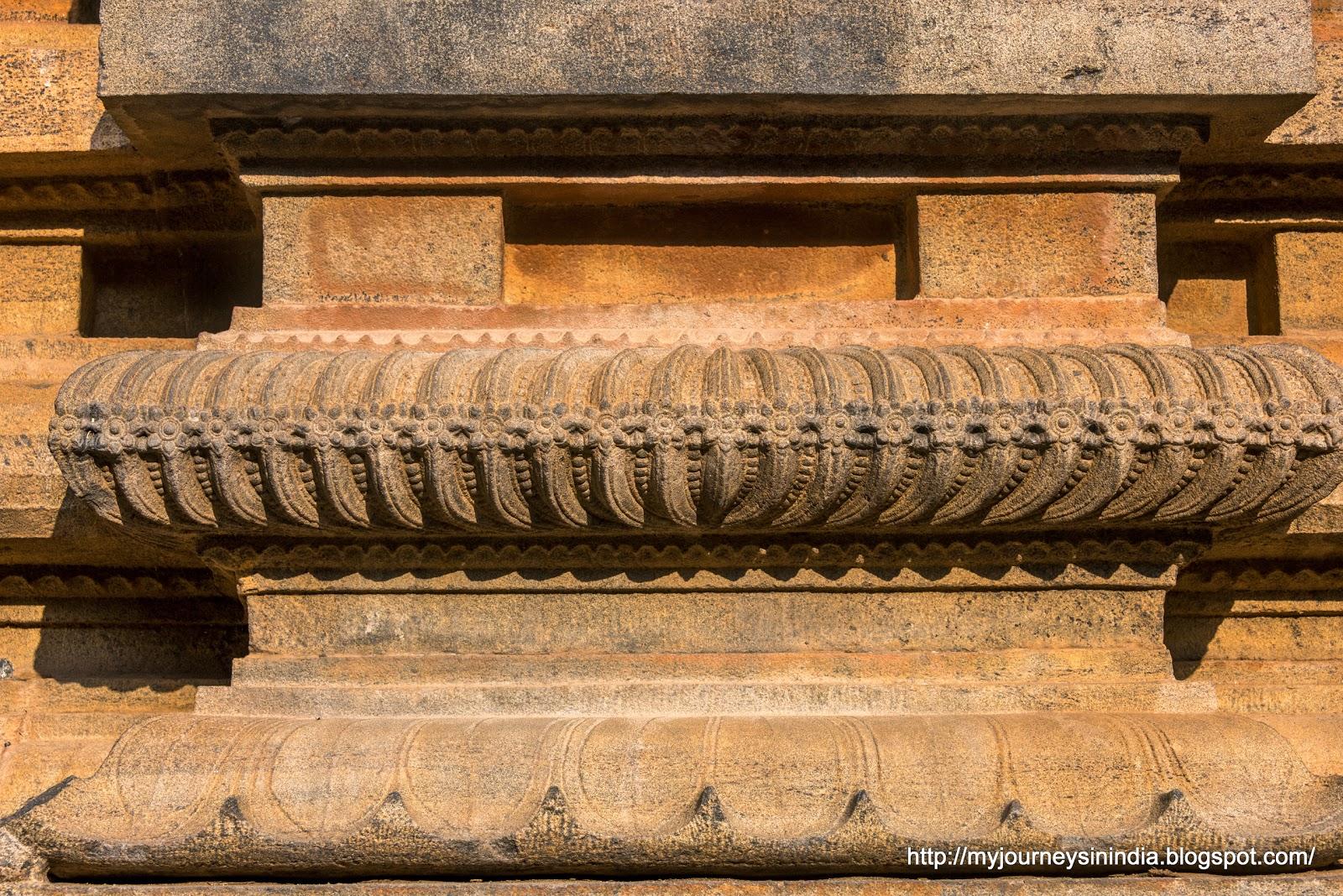 Thanjavur Brihadeeswarar Temple Intricate carvings