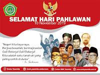 Desain Banner Ucapan Selamat Hari Pahlawan