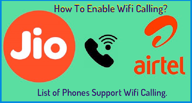 how to enable or make wifi calling