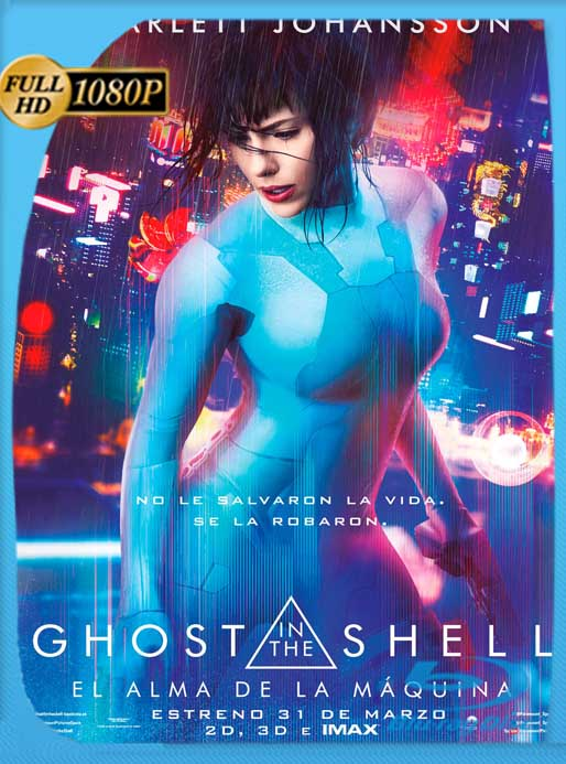 Ghost in the Shell: El alma de la máquina (2017) HD [1080p] Latino [GoogleDrive] SilvestreHD