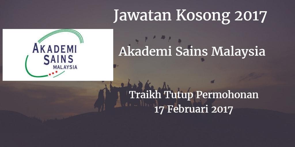Jawatan Kosong ASM 17 Februari 2017
