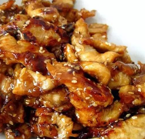 Slow Cooker Teriyaki Chicken #dinner #crockpot
