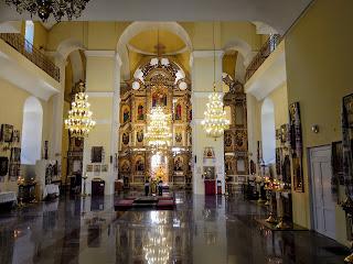 Полтава. Соборный майдан. Кафедральный собор Успения Пресвятой Богородицы