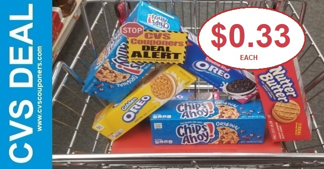 CVS Deal on Oreo Cookies $0.33 2-2-2-8