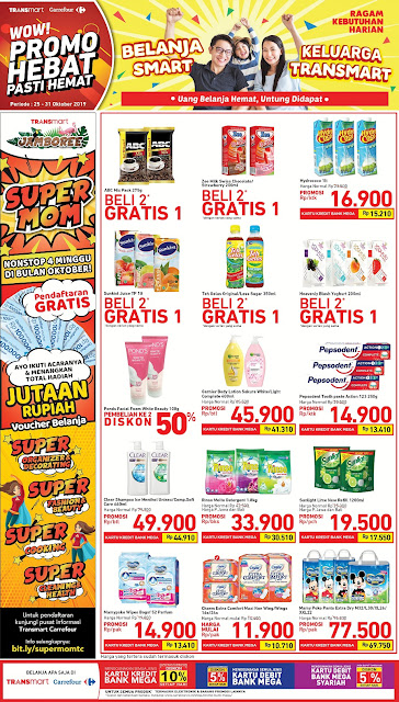#Transmart - #Katalog Promo Weekend Periode 25 - 31 Okt 2019