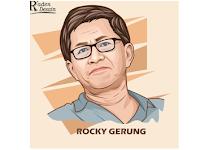 """Tanggapan Rocky Gerung Usai Debat Pilpres """"Jokowi Tak Cermat, Prabowo Sopan"""""""