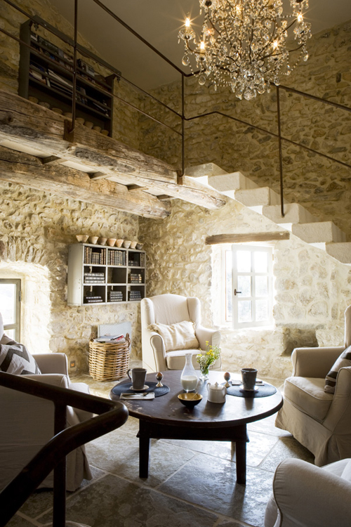 Modern country style holiday home modern country style for Case interni design