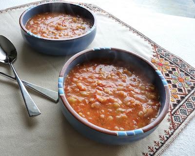 Creamy Tomato - Barley Soup