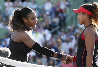 Serena Williams loses in 1st round at Miami Open to Osaka