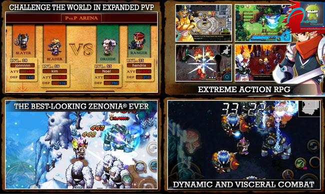 ZENONIA� 4 android screenshots
