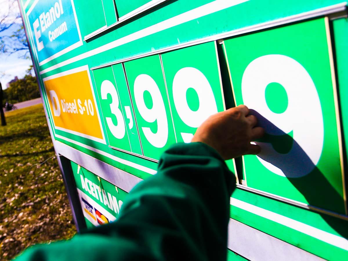 Preço do diesel avança 2,3% em sua terceira alta consecutiva