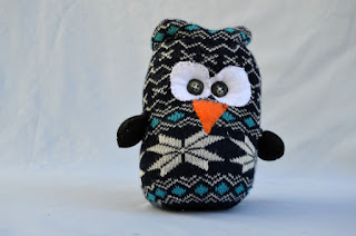 Whimsical owl from JJLadell's on Etsy