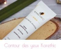 Crème contour des yeux bio de Karethic avis
