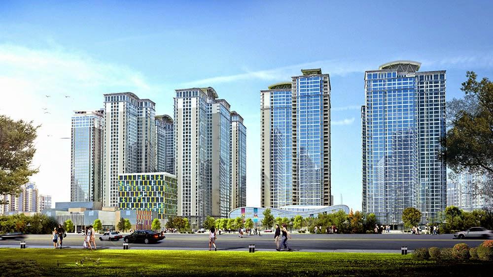Phối cảnh dự án chung cư Goldmark city