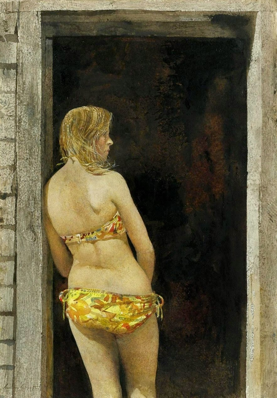 Sauna Nude Girl