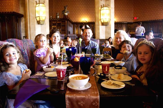 Restaurante na Disney