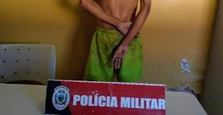 EM SAPÉ: HOMEM FORAGIDO DA JUSTIÇA É PRESO APÓS PRATICAR ASSALTO NA TARDE DESTA QUINTA (6)