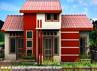 Warna cat rumah minimalis merah