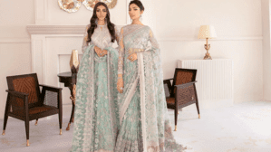 Baroque Chantelle Embroidered Chiffon Collection 2021