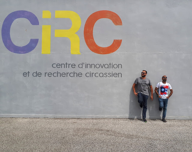 CIRC 'Centre d'innovation et de recherche circassien' in Auch with The Social Traveler and Budget Traveller