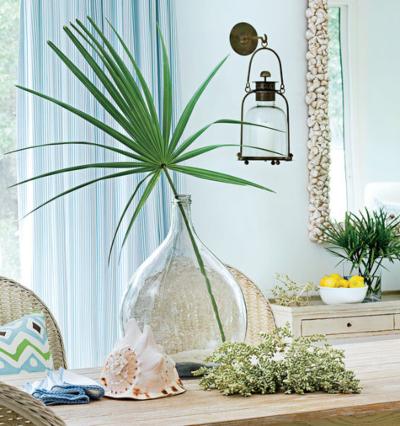 Palm Leaf Front Decor Ideas