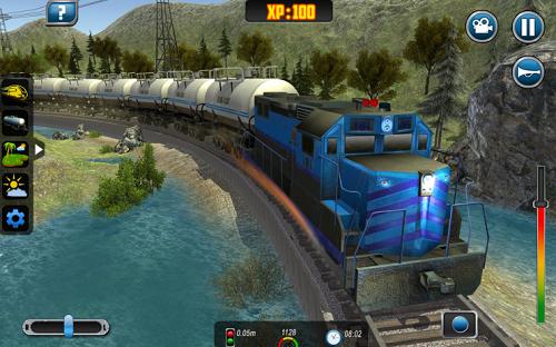 العاب قطار حقيقية