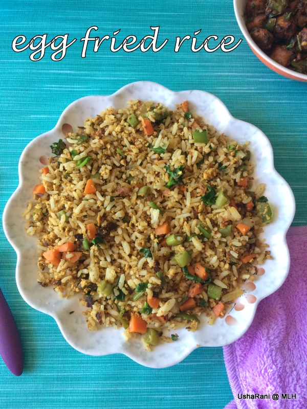 Mahaslovelyhome vegetable egg fried rice recipe egg fried rice egg fried rice is an easy dish to cook yet tastes so good when you serve hot there are so many versions in making fried rice especially street side fried ccuart Choice Image