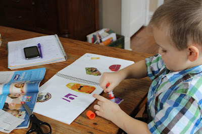 Day in the Life of My Homeschool-a minute-by-minute record of a day