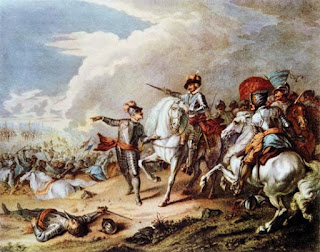 Battle of Naseby - Guest Post by  Mark Turnbull, Author of Allegiance of Blood: 17th Century Historical Fiction