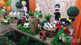 Decoração festa infantil Turma do Chaves