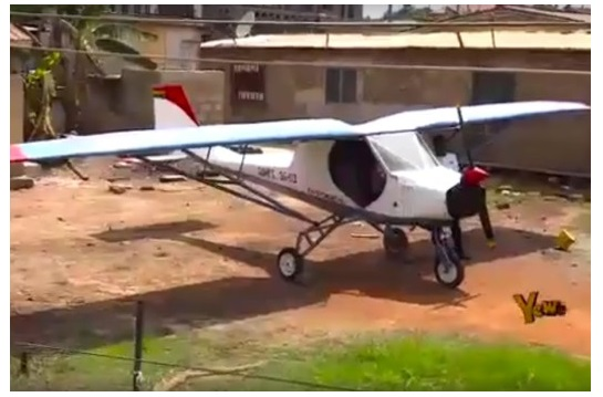 Two brothers from Ghana made first beautiful Aircraft