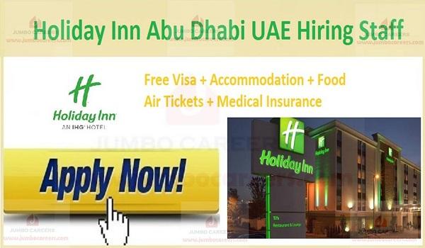 Abu Dhabi Hotel jobs with benefits,