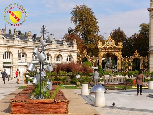 NANCY (54) - Place Stanislas - jardin éphémère 2013