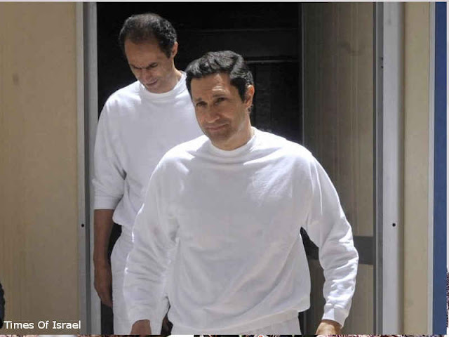 Pengadilan Mesir Kembali Kirim 2 Anak Hosni Mubarak ke Penjara