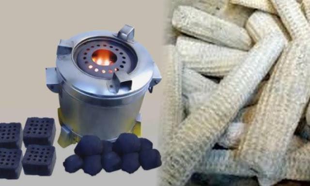 Cara Membuat Briket Dari Tongkol Jagung