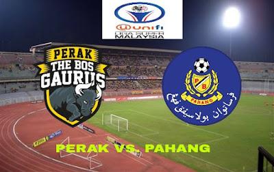 Live Streaming Perak vs Pahang Liga Super 14.7.2018